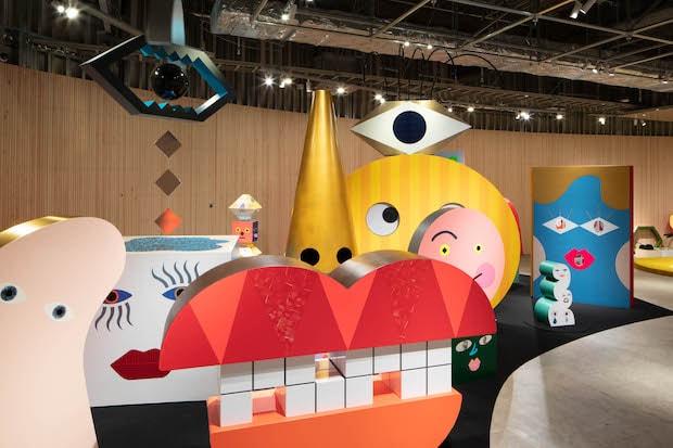 PLAY! MUSEUM 展示室 企画展「tupera tupera のかおてん.」
