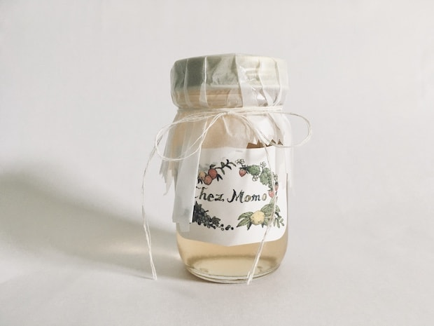 〈Confiturier Chez Momo〉の「梅とウィスキーのジュレ」梅の酸味にウィスキーの苦みをほんのり効かせた、深みある味わい。