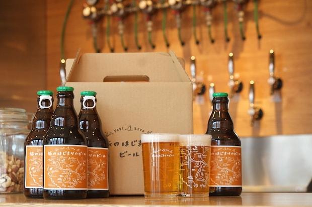 旅人と十勝の人が集う交流の場となっているホテル〈HOTEL NUPKA〉。十勝産大麦100%のクラフトビールや、十勝の職人さんが手がける雑貨などを販売。