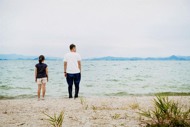 琵琶湖湖畔に散歩へ。