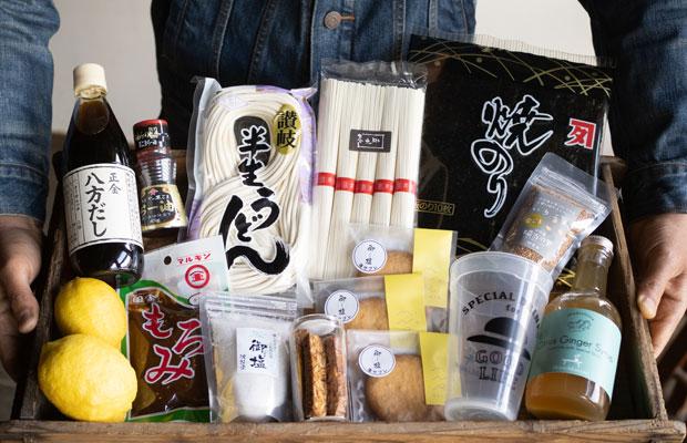 〈HOMEMAKERS〉の商品だけでなく、小豆島の生産者のものも販売するオンラインストア。(撮影:三村ひかり)