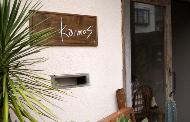 2019年5月にオープンした小豆島のピザ屋〈Pizza Kamos〉。土庄港(とのしょうこう)から歩いて5分ほどの住宅街にあります。