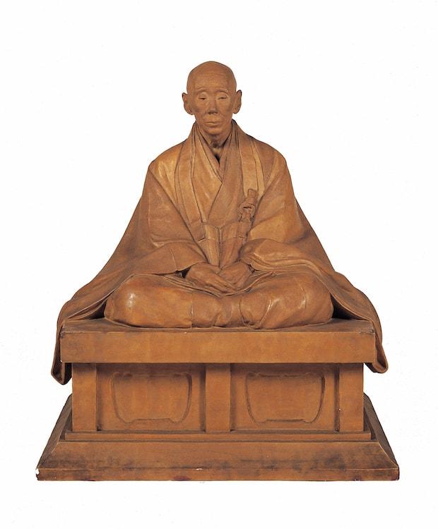 石本暁曠『在りし日の黙雷禅師』1933年 京都市美術館蔵