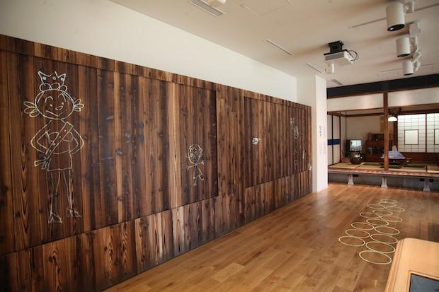長谷川町子記念館 常設展示室『町子の作品』
