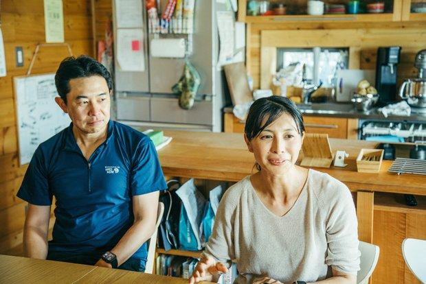 的場さん夫婦の共通の趣味は登山。理想の暮らしを実現するために松本へ移住を決意。
