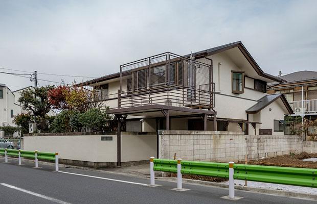 東京都杉並区にある〈今川のシェアハウス〉。(撮影:千葉正人)