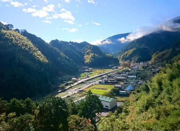 静岡市の中心地から車で約1時間の距離にある両河内地区。市内では比較的新しい茶産地だ。(写真提供:豊好園)