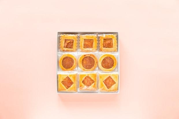 八朔、柚子、金柑のジャムを使用したロシアケーキ。ジャムは季節によって変わります。