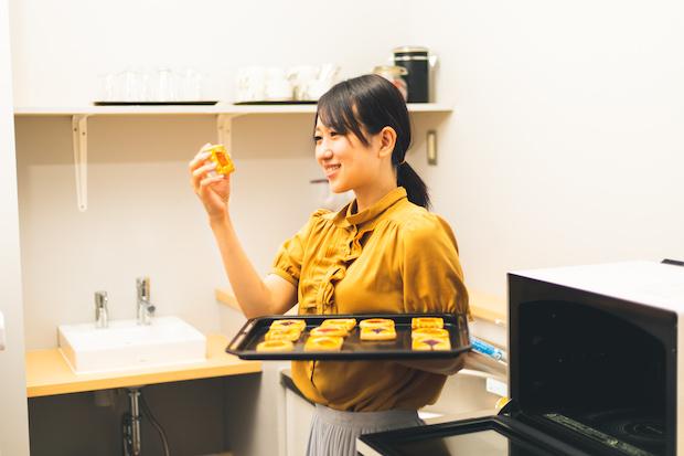 焼き菓子作家の山本蓮理さん