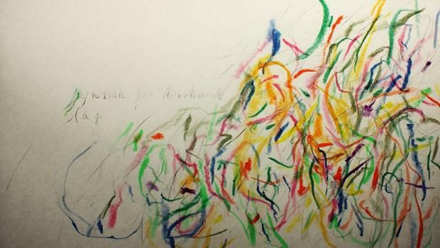 折笠良『Notre chambre(われわれの部屋)』(2016年)。