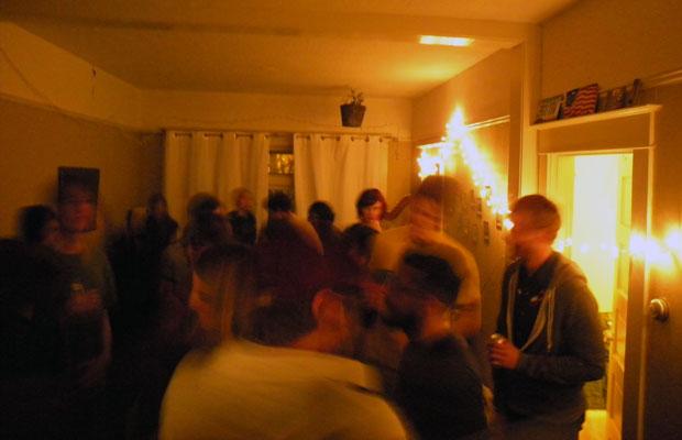 ある日のハウスパーティ。