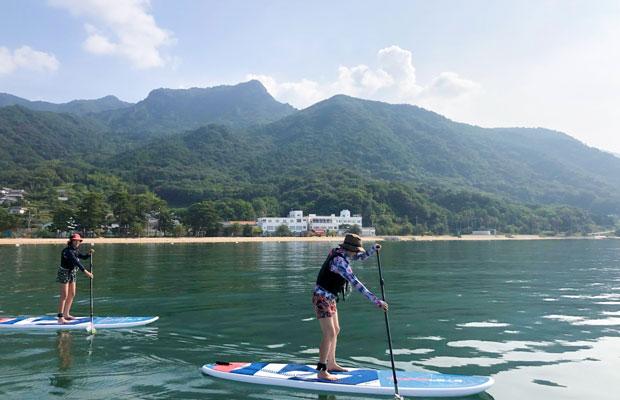 SUPからキャンプまで!〈シマアソビ〉で小豆島の海と山で遊ぼう