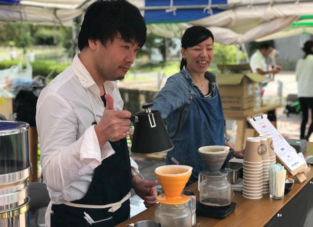 昨年10月に行われたフェスティバル「NIIGATA COFFEE GOOD TIME FES.2019」の模様。(写真提供:にいがたコーヒープロジェクト)
