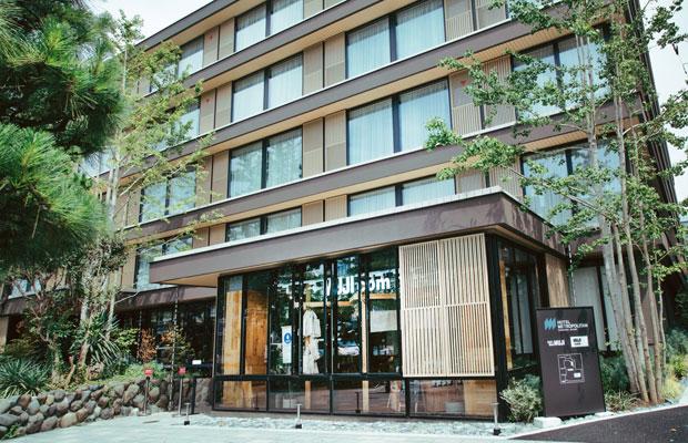 今年4月、まちの中心を通る若宮大路沿いに開業した〈ホテルメトロポリタン鎌倉〉。その1階に、鎌倉中心部には初の出店となる〈MUJIcom〉、〈Café&Meal MUJI〉がオープンした。
