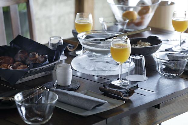 桑名の食材で丁寧に作られた朝食は旅のもうひとつの楽しみ。