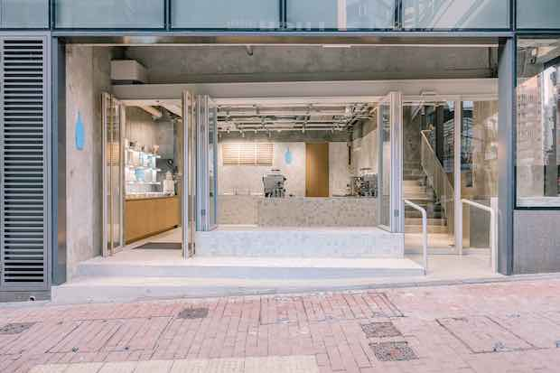 〈Blue Bottle Coffee Hong Kong Central Cafe〉設計:Schemata Architects / Jo Nagasaka