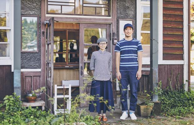 オーナーの渡辺幸治さんサヨさんご夫婦。サヨさんは北海道の出身。