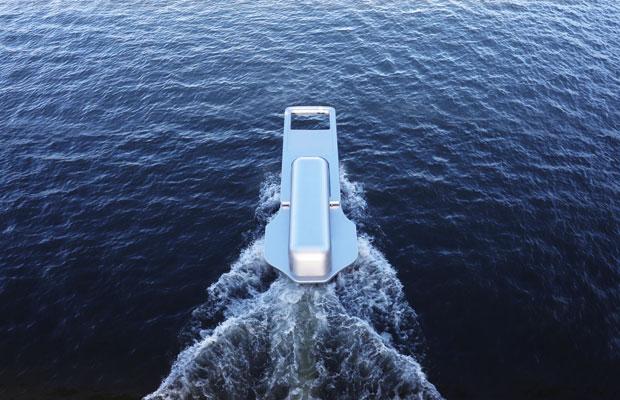 鈴木康広『ファスナーの船』 (c) Yasuhiro Suzuki