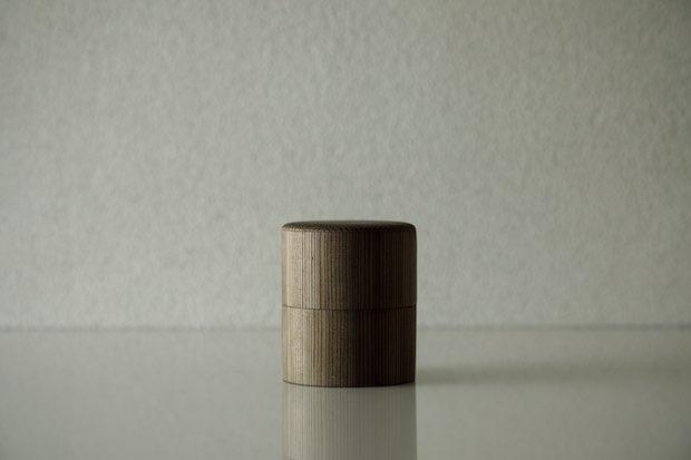 中川木工芸の中次茶入とお重