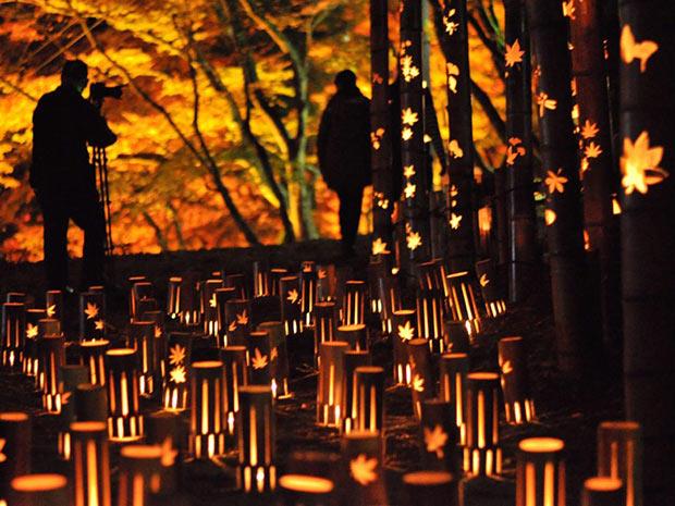東海随一の紅葉の名所といわれる、愛知県豊田市の足助