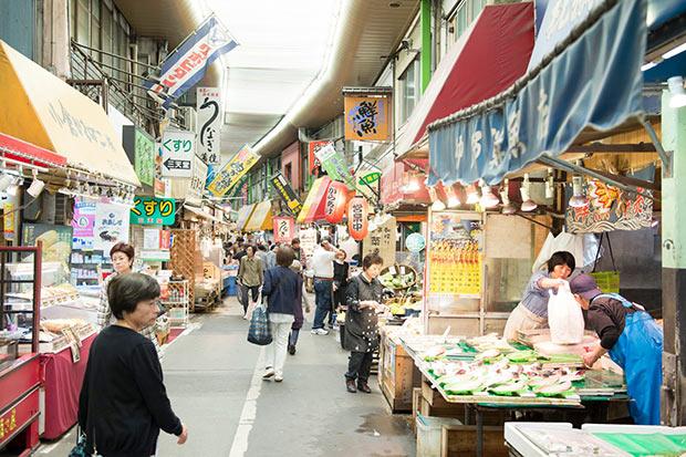 九州の玄関口にあり魚介の宝庫、北九州の小倉