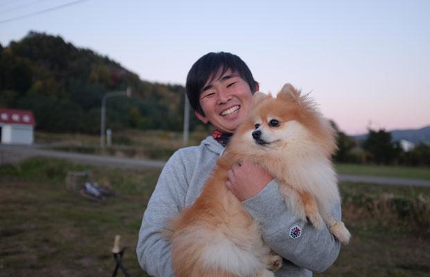 瀬尾洋裕さん。大学に通いながらルコチパークの運営も行う。