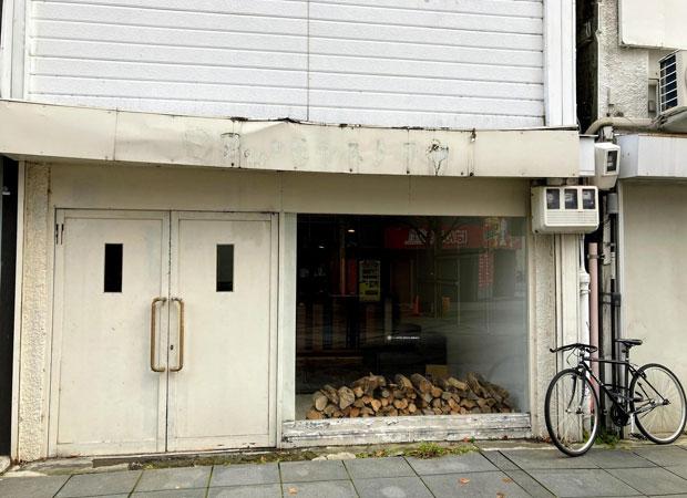 完成したi.c.stella。1階が店舗で、2階が谷藤さんの住居、3階は物置きという構造。