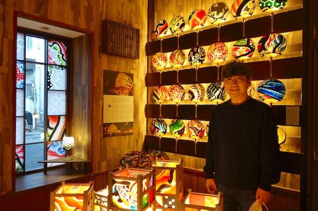 店主の木村正幸さん。〈IRODORI〉は、まちそだて会で運営しています。