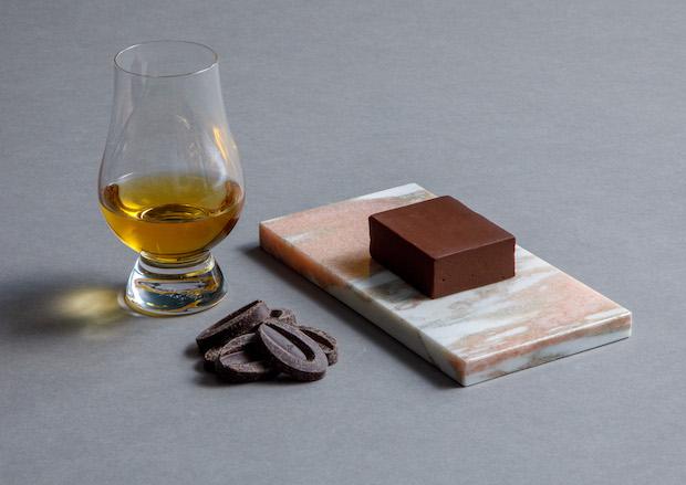 ラム酒と70%チョコレートのヨウカンカ