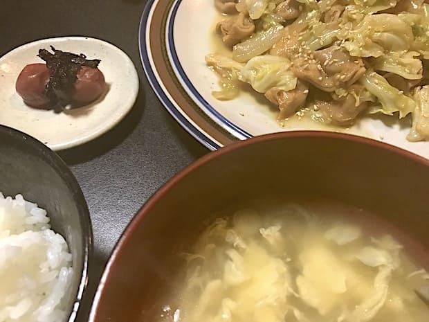 鶏ハラミに野菜を加えて炒めました。ご飯が進みます!