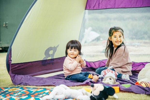 灯里ちゃんと瑚菜ちゃんは実の姉妹のように仲良し。
