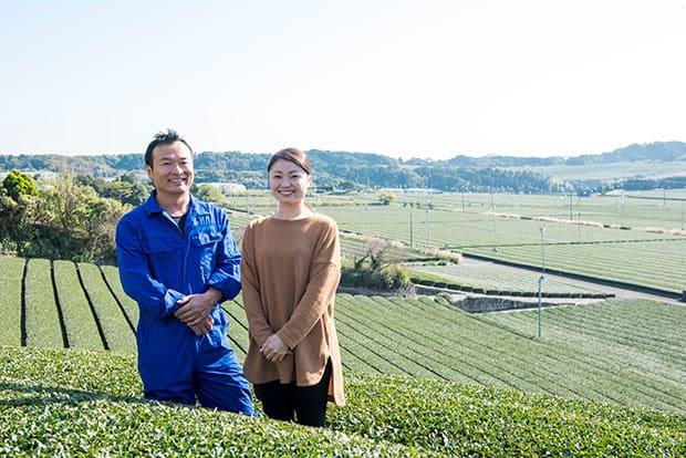 松本浩毅さんと、奥さまの早実さん。