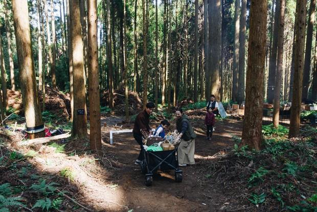 静かに森を散策する時間もできました。