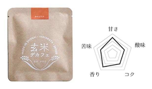 北海道産〈ゆめぴりか〉は、苦みが少なく甘さと香りが引き立ちます。