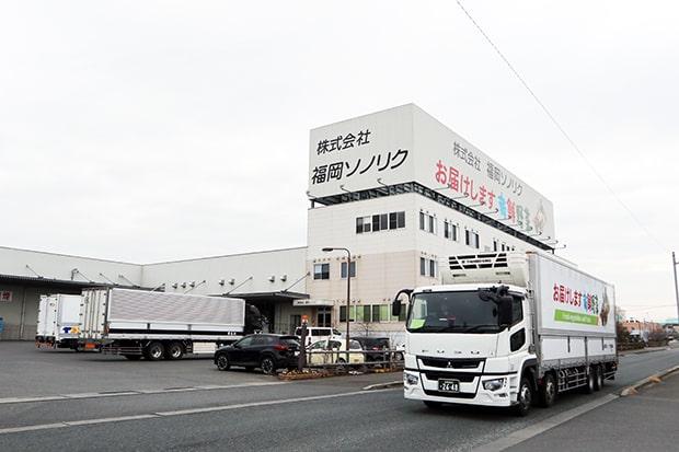 福岡ソノリクの本社。