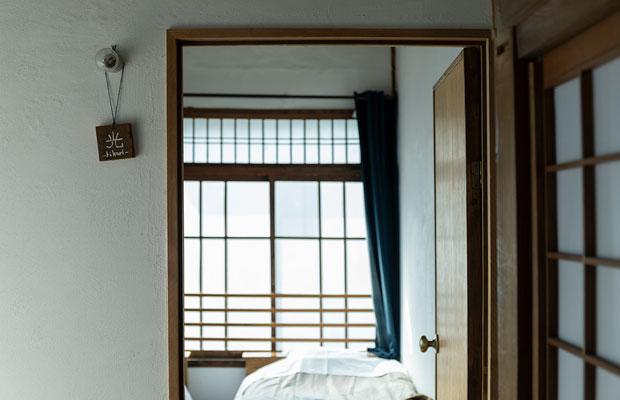 「光」は角部屋で一番日当たりのいいお部屋。