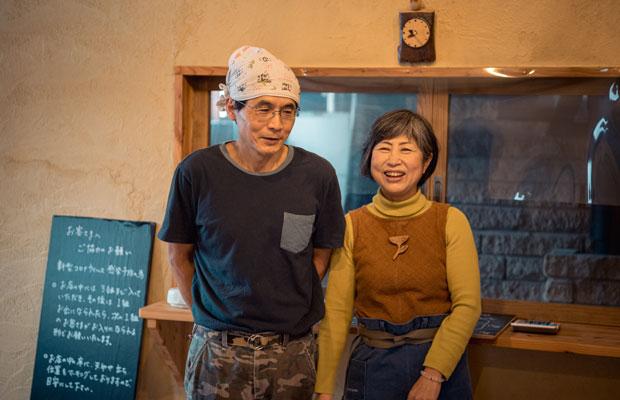 上美流渡にある人気のパン屋〈ミルトコッペ〉の女将・中川文江さんにも話を聞いた。(撮影:佐々木育弥)