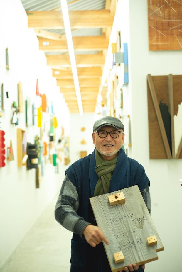 〈板室温泉大黒屋〉代表・室井俊二さん。