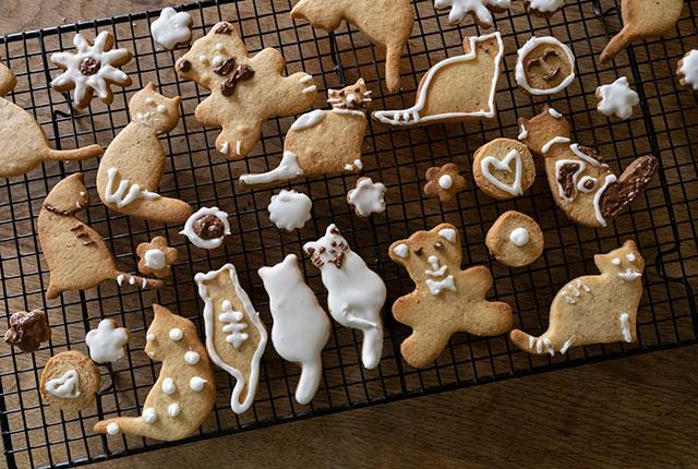 焼きあがったクッキー