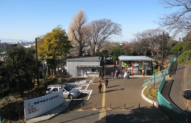 横浜を一望できる野毛山の頂上にある野毛山動物園。