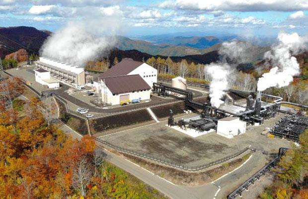 2019年には大型の〈山葵沢地熱発電所〉が運転開始。(写真提供:湯沢市)