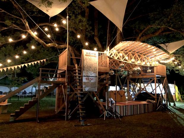 """〈神山フードハブ〉のメンバーが""""地産地食""""をテーマに参加してくれた鹿児島のグッドネイバーズ・ジャンボリー。"""