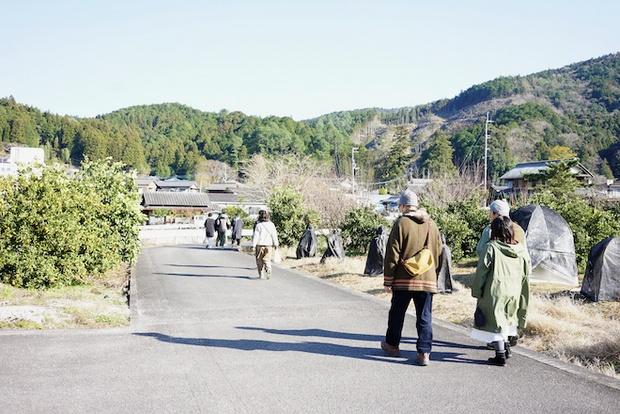 神山のまちを歩く。