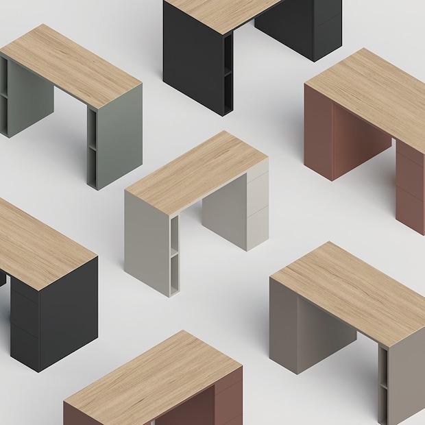 リボーン・プロジェクトの「JIM desk」製造:アルプススチール株式会社