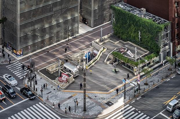 会場となるのは、都会の中にある「変わり続ける実験的な公園」として機能するGinza Sony Park。