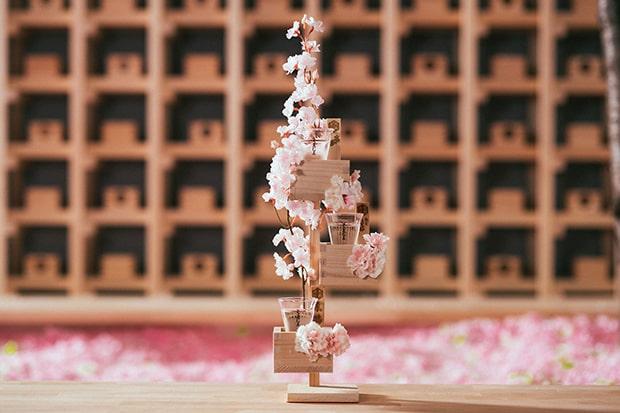 今回特別に製作された「桜升 一本桜」。
