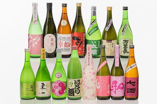 選りすぐりの佐賀の日本酒が15種類。