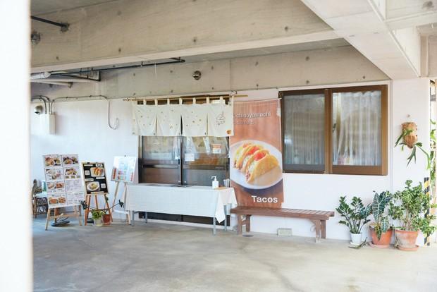 うちのやまちでは自宅の一角を店舗として使っている。「うちのやまち」とは山内さん家族の沖縄の屋号から。