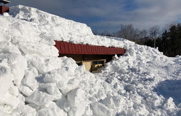岩見沢市は10年ぶりの大雪。私たちが移住した年も、災害級の雪が降った。