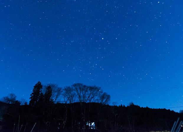 美杉町の太郎生(たろお)という集落。自然が豊かで夜空には満天の星が。